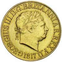 Souverain Or Georges III en Or