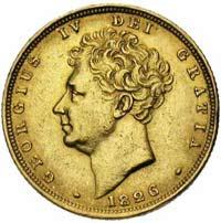Souverain Or Edouard IV Tête Nue en Or