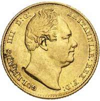 Souverain Or Guillaume IV en Or