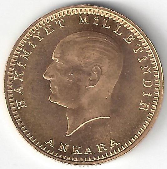 Mustafa Kemal en Or