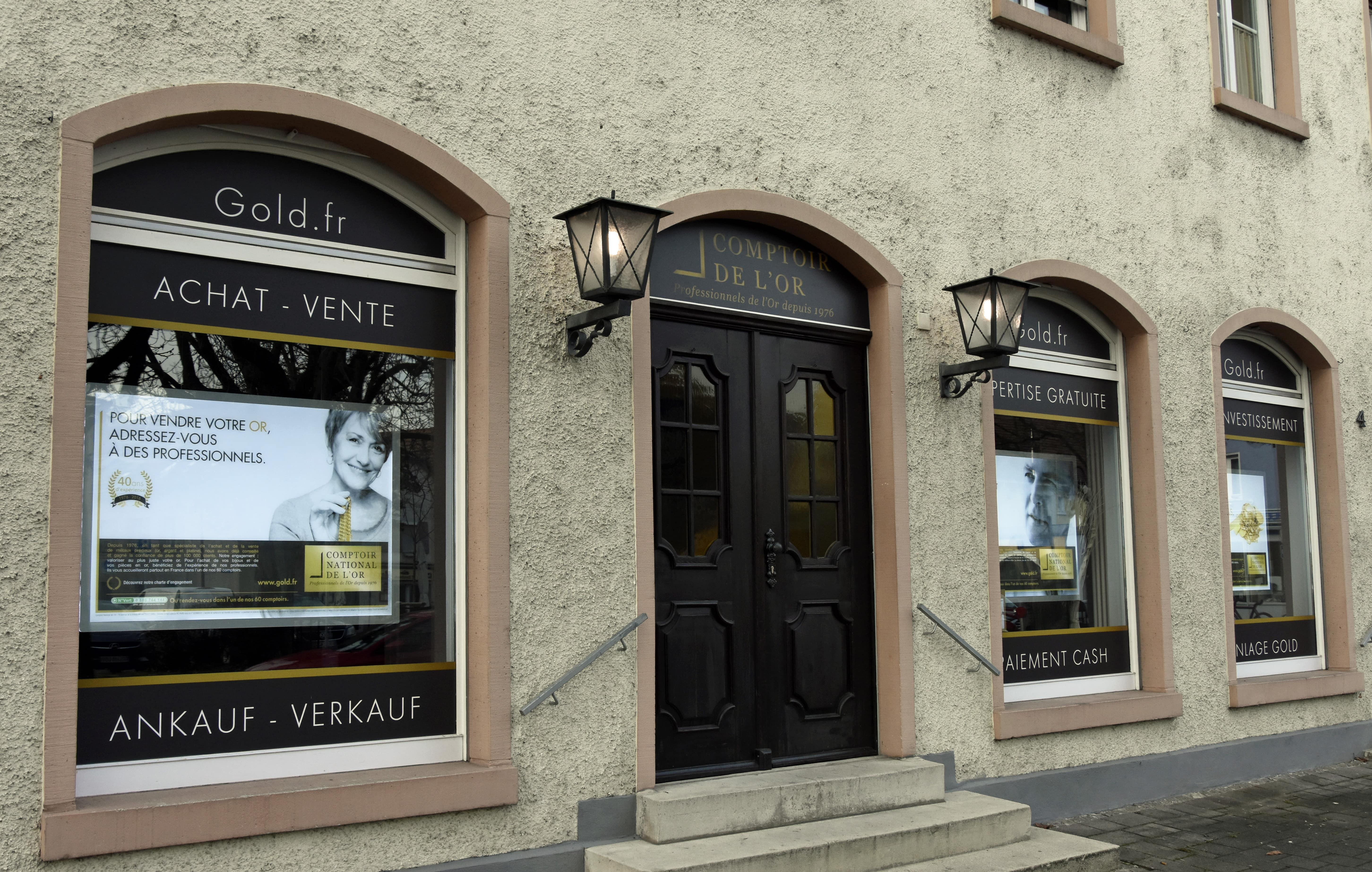 Notre meilleur comptoir d'achat d'Or en Haut-Rhin (68)
