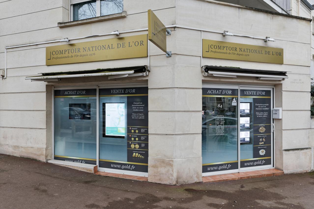 Nos meilleurs comptoirs d'achat d'Or à proximité de Sceaux (92330)