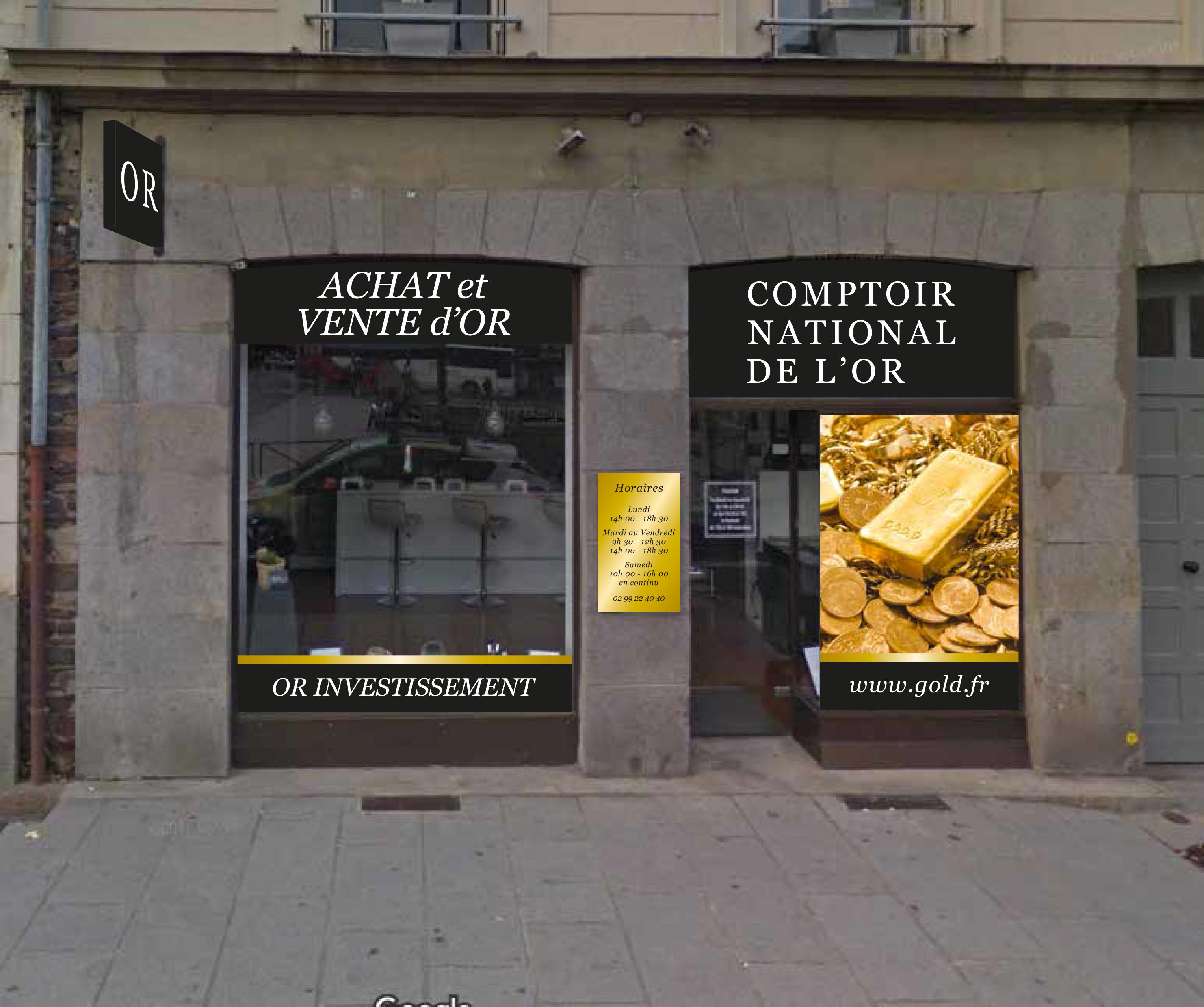 Notre meilleur comptoir d'achat d'Or à proximité de Chantepie (35135)