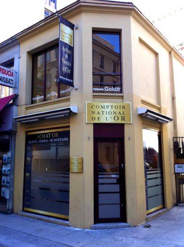 Notre meilleur comptoir d'achat d'Or à proximité de La Gaude (06610)
