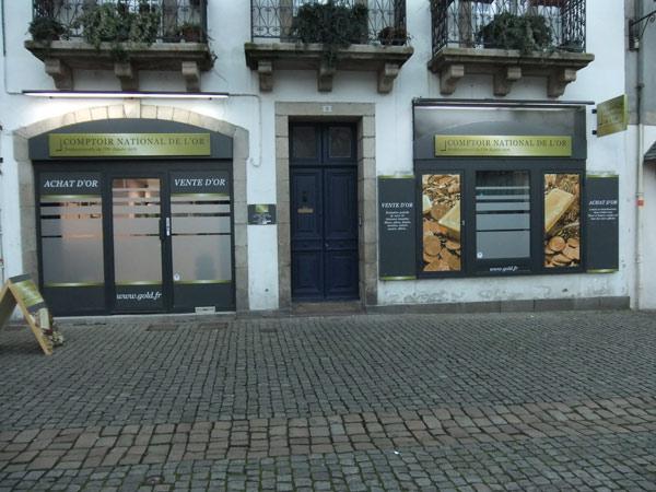 Notre meilleur comptoir d'achat d'Or à proximité de Douarnenez (29100)
