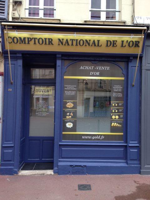 Nos meilleurs comptoirs d'achat d'Or à proximité de Montesson (78360)