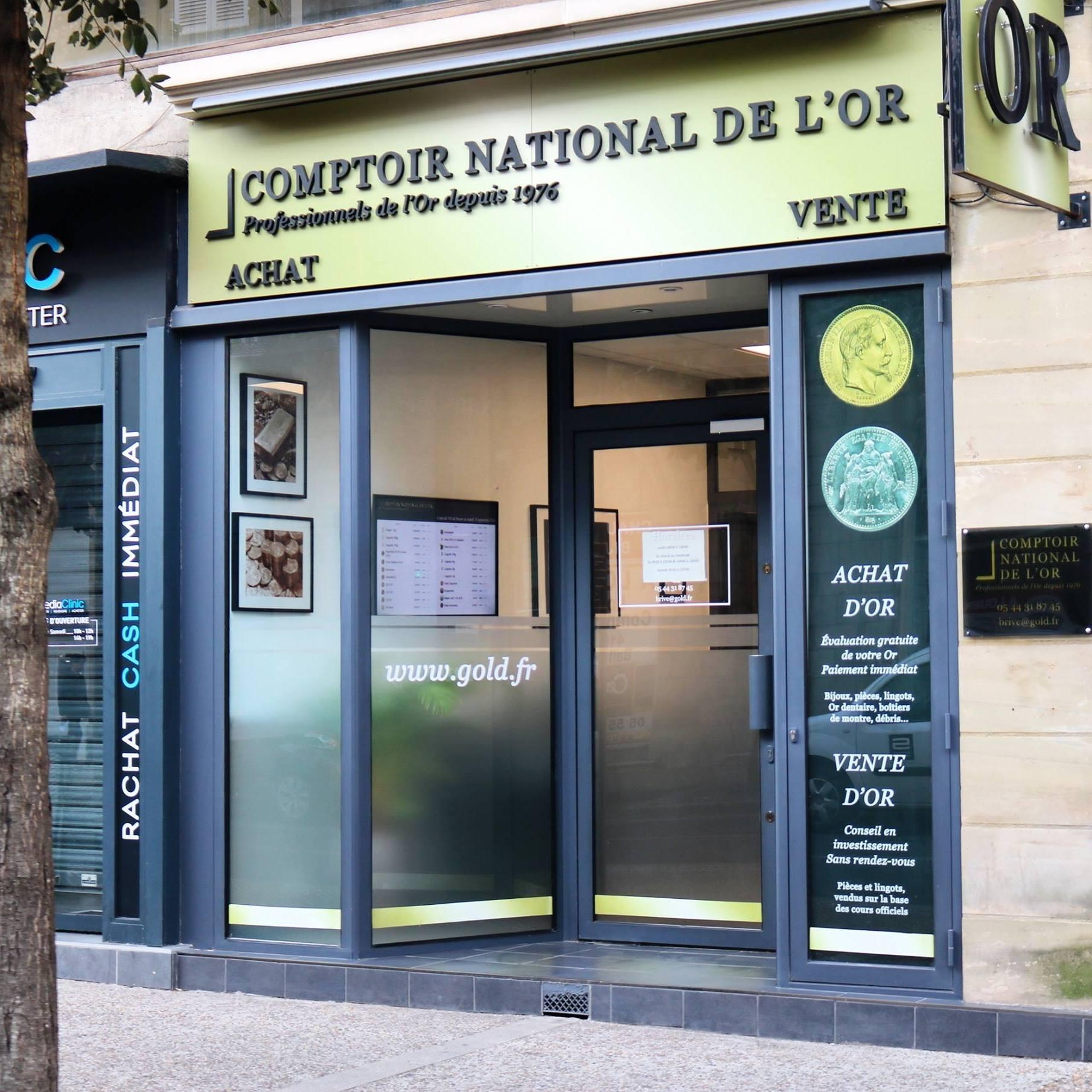 Nos meilleurs comptoirs d'achat d'Or à proximité de Montignac (24290)