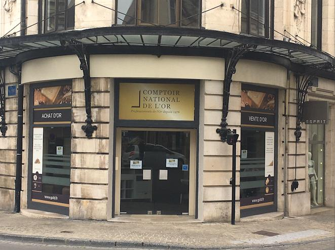 Nos meilleurs comptoirs d'achat d'Or à proximité de Saint-Amand-Montrond (18200)