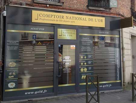 Nos meilleurs comptoirs d'achat d'Or à proximité de Bobigny (93022)