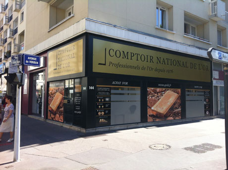Notre meilleur comptoir d'achat d'Or à proximité de Ouistreham (14150)