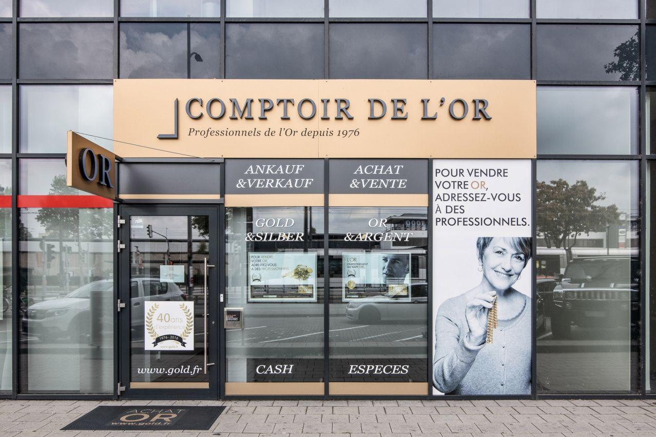 Nos meilleurs comptoirs d'achat d'Or à proximité de La Wantzenau (67610)