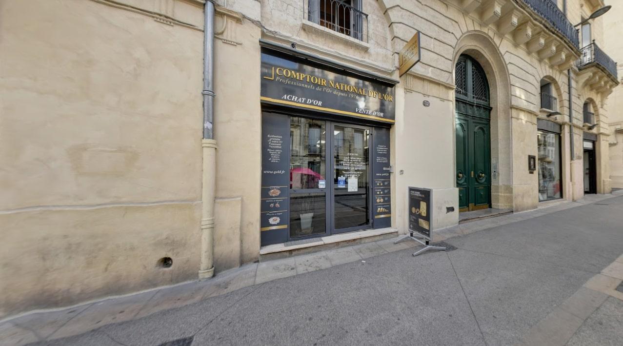 Nos meilleurs comptoirs d'achat d'Or à proximité de Béziers (34500)