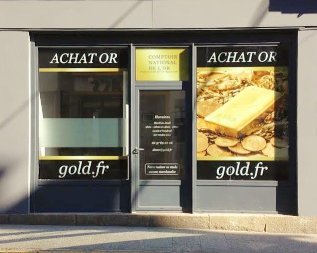Notre meilleur comptoir d'achat d'Or à proximité de Lamballe (22400)