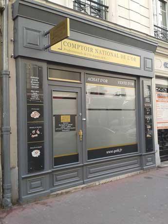 Notre meilleur comptoir d'achat d'Or à proximité de Asnières-sur-Seine (92600)